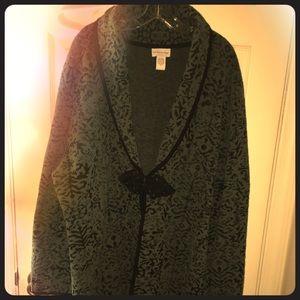 Soft Surroundings long cardigan sweater size 3x
